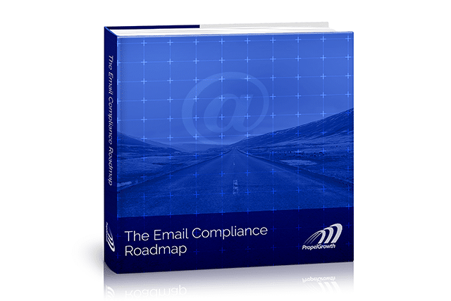 "Download ""The Email Compliance Roadmap,"" a 46-page reference guide"